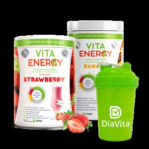 Strawberry Banana Fruit Smoothie Mix Set